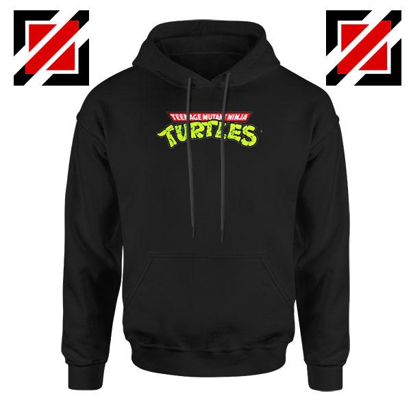New Ninja Turtles Logo Black Hoodie