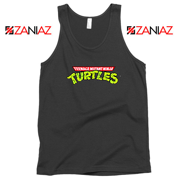 New Ninja Turtles Logo Black Tank Top
