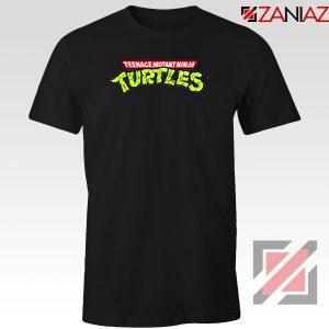 New Ninja Turtles Logo Black Tshirt