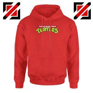 New Ninja Turtles Logo Red Hoodie
