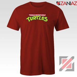 New Ninja Turtles Logo Red Tshirt