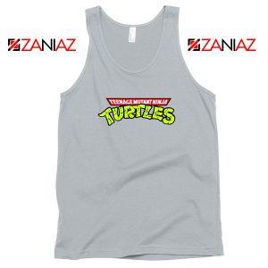 New Ninja Turtles Logo Sport Grey Tank Top