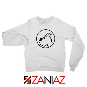 Snowy Tintin Character Sweatshirt