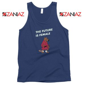 The Future Is Female CBB Podcast Navy Blue Tank Top