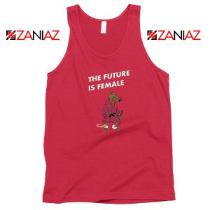 The Future Is Female CBB Podcast Red Tank Top