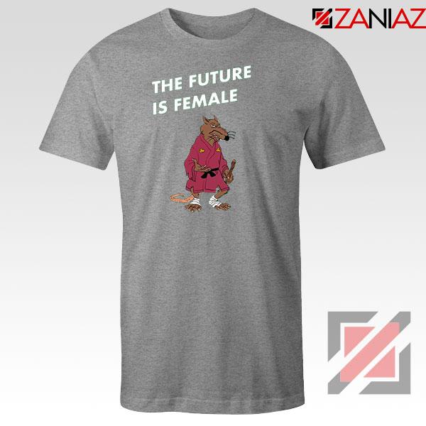 The Future Is Female CBB Podcast Sport Grey Tshirt