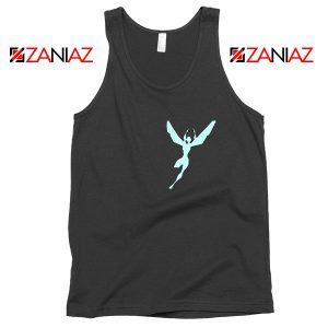 The Wasp Avengers Characters Black Tank Top