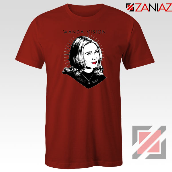WandaVision Superhero Pop Art Red Tshirt