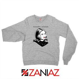WandaVision Superhero Pop Art Sport Grey Sweatshirt