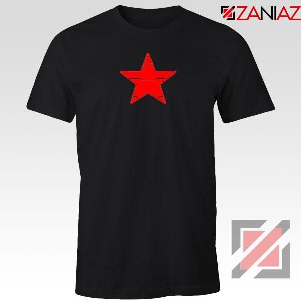 Winter Soldier Icon Black Tshirt