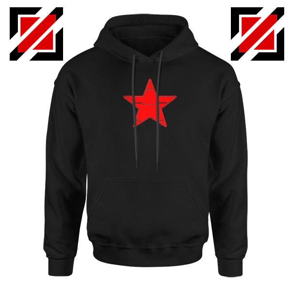 Winter Soldier Icon Jacket Black Hoodie
