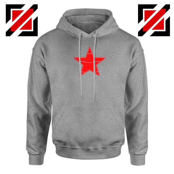 Winter Soldier Icon Jacket Sport Grey Hoodie