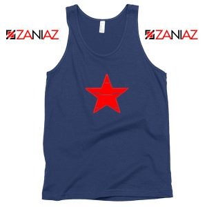 Winter Soldier Icon Navy Blue Tank Top