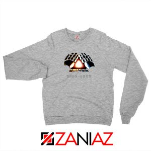 Daft Punk Electronic Music Duo Grey Sweatshirt