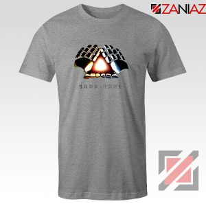Daft Punk Electronic Music Duo Grey Tshirt