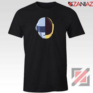 Daft Punk Music Helmet Black Tshirt