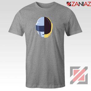 Daft Punk Music Helmet Grey Tshirt