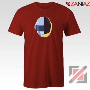 Daft Punk Music Helmet Red Tshirt