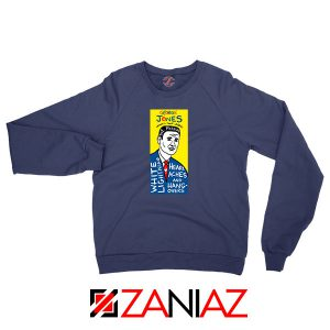 George Jones Art Country Singer Navy Blue Sweatshirt