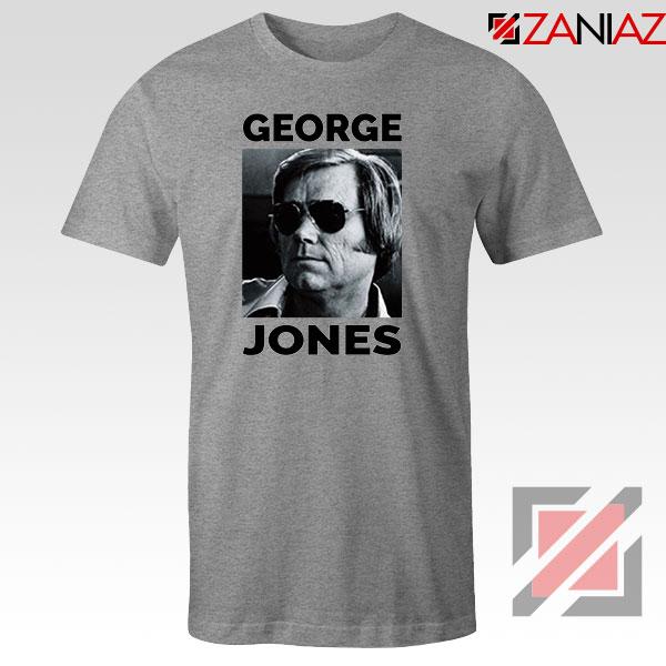 George Jones Photo Musician Sport Grey Tshirt