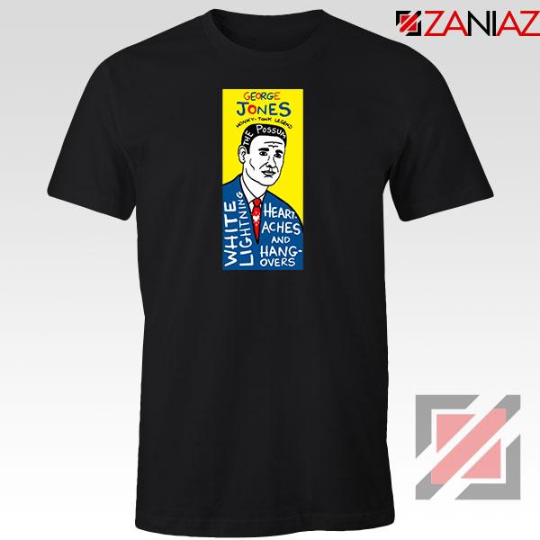 George Jones Pop Art Singer Tshirt