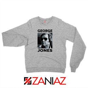 George Jones Singer Photo Sport Grey Sweatshirt