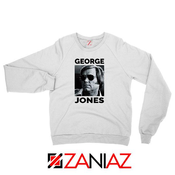 George Jones Singer Photo Sweatshirt