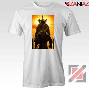 Godzilla vs Kong Monsters white Tshirt