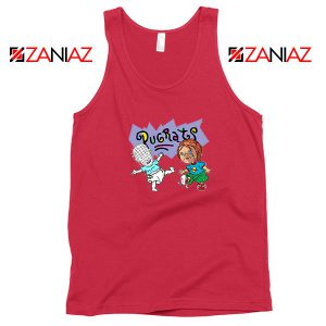 Hellraisers Pinhead and Chucky Red Tank Top