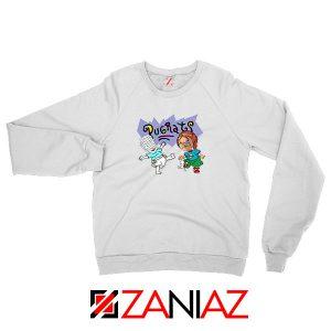 Hellraisers Pinhead and Chucky White Sweatshirt