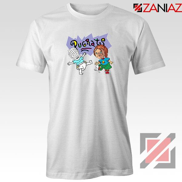 Hellraisers Pinhead and Chucky White Tshirt
