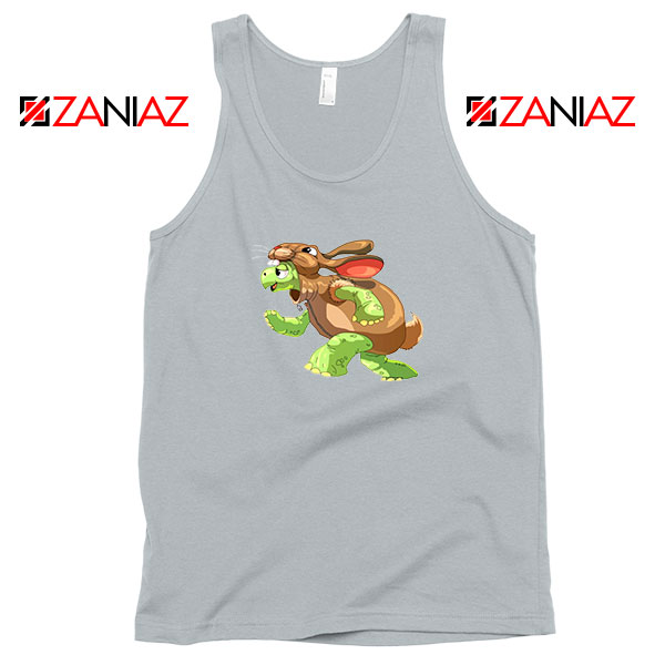 Slow and Steady Wins Design Sport Grye Tank Top
