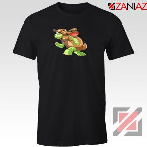 Slow and Steady Wins Graphic Black Tshirt