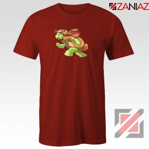 Slow and Steady Wins Graphic Red Tshirt