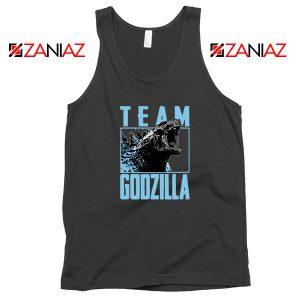 Team Godzilla Monster Film Black Tank Top