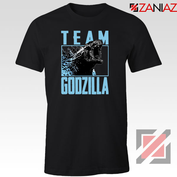 Team Godzilla Monster Film Black Tshirt