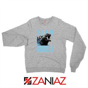 Team Godzilla Monster Film Sport Grey Sweatshirt