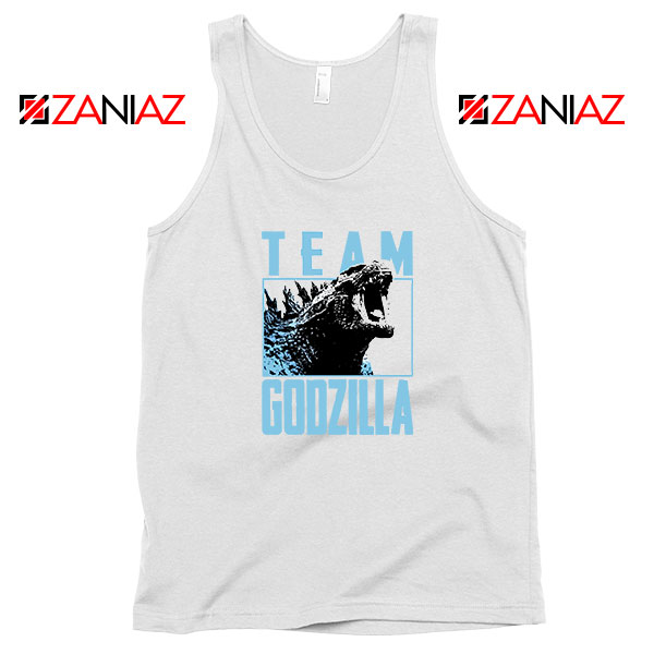 Team Godzilla Monster Film Tank Top
