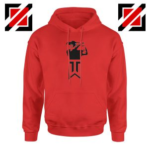 Tiger Woods Golf Logo Red Jacket Hoodie