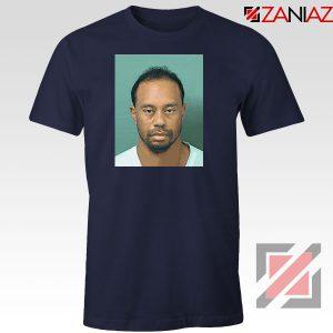Tiger Woods Masters Shot Navy Blue Tshirt