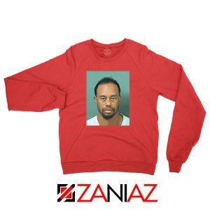 Tiger Woods Masters Shot Red Sweatshirt