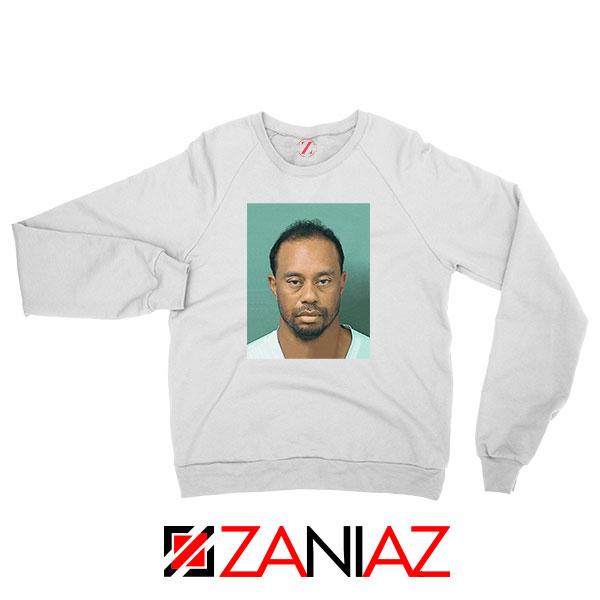 Tiger Woods Masters Shot White Sweatshirt