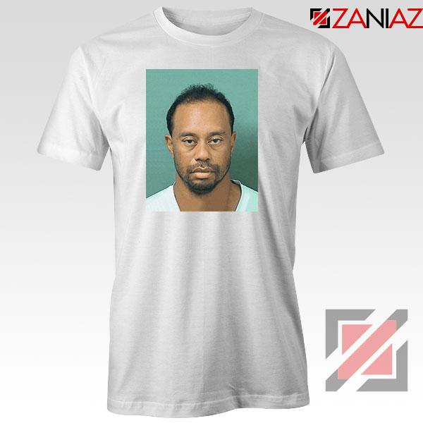 Tiger Woods Masters Shot White Tshirt