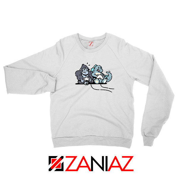 Videogame Kong and Godzilla Sweatshirt