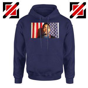 Acid Rap Mixtape American Flag Navy Blue Hoodie