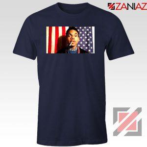 Acid Rap Mixtape American Flag Navy Blue Tshirt