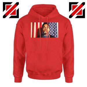 Acid Rap Mixtape American Flag Red Hoodie