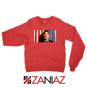 Acid Rap Mixtape American Flag Red Sweatshirt