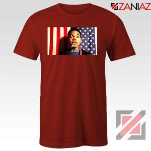 Acid Rap Mixtape American Flag Red Tshirt