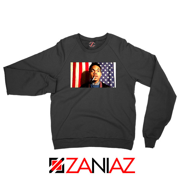 Acid Rap Mixtape American Flag Sweatshirt
